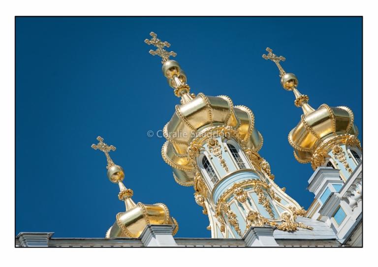 Divine details in Tsarskoye Selo